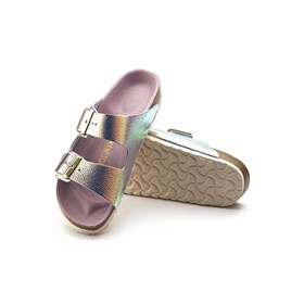 Birkenstock Arizona Bs Bayan Sandalet 1003861B Ombre Pearl Silver Orchid